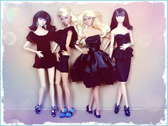 group Portrait In Black & Sweet Confection (Michaela Unbehau Photography) Tags: portrait black fashion hair skin sweet blond poppy royalty parker tanned confection in