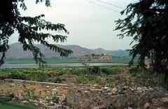 """Jal Mahal (meaning """"Water Palace"""") is a palace located in the middle of the Man Sagar Lake in Jaipur city, the capital of the state of Rajasthan, India Feb 1990 404 (photographer695) Tags: india jalmahalmeaningwaterpalaceisapalacelocatedinthemiddleofthemansagarlakeinjaipurcity thecapitalofthestateofrajasthan jal mahal meaning waterpalace is palace located middle man sagar lake jaipur city capital state rajasthan the around it were renovated enlarged 18th century by maharaja jai singh ii amber"""