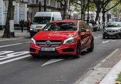 Poland (Warsaw-Bemowo) - Mercedes-Benz A45 AMG W176 (PrincepsLS) Tags: poland polish license plate wb warsaw warszawa bemowo germany berlin spotting mercedes benz a45 amg w176