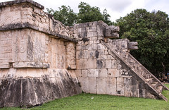 Chichen-Itza (littlestschnauzer) Tags: maya mayan ruins found chichen itza chichenitza 2016 summer july engravings pictures carvings sculpture travel mexico vacation holiday visit stone stonework poi place interest seven wonders world nikon d7200 important site historical ancient