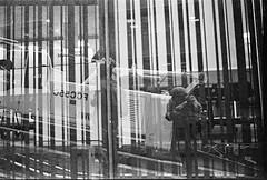 Selfportrait (Luisa Vlez) Tags: selfportrait autorretrato nikonf3 blackwhitefilm blancoynegro bogot street streetphotography anlogo analogphotography colombia arquitectura