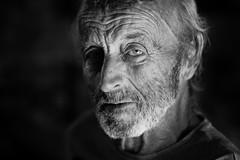 The look (Giulio Magnifico) Tags: nikon portrait lightning udine wine osteria blackwhite friuli night 105mm nikond800e powerful naturallight italy gaze soul look nikkor105mmmicrof28afs countryside macro closeup osteriefriulane soulful light