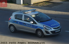 D152 - Opel Corsa - KP Beyce (pawelbednarczyk) Tags: d013 daewoo korando d159 fiat ducato d140 d172 skoda octavia d123 opel astra ii d193 d190 kia sportage d152 corsa d176 aro 245 d173 ford transit d189 fso polonez beyce lubelskie policja radiowz radiowozy komisariat policji hpd