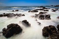 Izu Rock (koshichiba) Tags: izu rock long exposure lee super seascape landscape beachside nature tide stopper filter yumigahama 15stop sky japan big      typoon summer