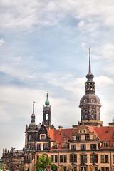 160527_111630_AB_4870 (aud.watson) Tags: europe germany saxony dresden zwinger palace zwingerpalace katholischehofkirche dresdencathedral cathedraloftheholytrinity georgenbau royalpalace citygate spire steeple