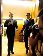 Mariano Rajoy se rene con Albert Rivera (Partido Popular) Tags: marianorajoy rajoy rajoypp albertrivera