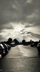Break through #light #shiningthrough #shining #sunrays #bwphotography #bw #clouds #storm (comanche photography) Tags: light sunrays storm bwphotography shining clouds bw shiningthrough
