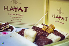 Hayat Sweet (vibrancefotografy) Tags: hayat turkish turkey istanbul sweet chocolate coconut dryfruits