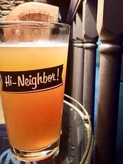#hi-neighbor (Geo Dee) Tags: pintglass pint lager beer grabagansett rhodeisland narragansett hi