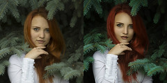 (kriisha) Tags: after retouching treatment beautiful girl frequency decomposition