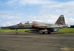 ALAN_POTTS_19870530_0013 (Spuggs) Tags: ayr ayrshire uk gbr glasgowprestwickairport prestwickairport hmsgannet pik egpk prestwickairshow airshow k4026 northropnf5b2000 nf5b royalnetherlandsairforce rnethaf koninklijkeluchtmacht klu aircraft alanpotts jet military hasselbladx5