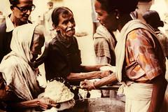 S28 webMC serving rice_0460 (kcadpchair) Tags: motherteresa missionariesofcharity calcutta kolkata lepers hansen people portrait urban poverty child youngboy younggirl volunteers kalighat