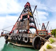 barge (Kai-Ming :-))) Tags: barge yaumateityphoonshelter westkowloon kaiming kmwhk hongkong seawater sky sony dscrx100m4 hdr panaorama