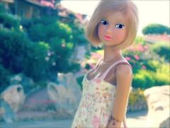 Praline Portrait ( Lily Queens ) Tags: momoko doll cradle waves praline sekiguchi