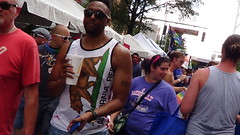 062  LGBT PRIDE, CHARLOTTE, 8/21/16 (Lugrada) Tags: lesbian gay bisexual transgender color hair pride youth young proud choice aware showing free together support friends
