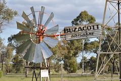 8 foot Alston Double Crank windmill; Jondaryon Woolshed, Queensland, Australia (sarracenia.flava) Tags: alston double crank windmill jondaryon woolshed queensland australia