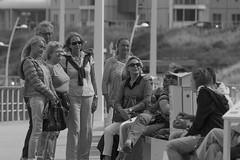 Boulevard - Scheveningen (Jan de Neijs Photography) Tags: scheveningen boulevardscheveningen boulevard denhaag sgravenhage blackandwhite zwartwit tamron tamron150600