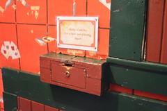 Ketchikan, Alaska - Creek Street - Dolly's House - Cash Box (jrozwado) Tags: northamerica usa alaska ketchikan kichxan creekstreet cashbox house houseofillrepute brothel dollyshouse museum