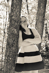 2016.08.27 Senior Year Fun Portraits, Julie Class of 2017 (Katie Wilson Photography Adventures) Tags: class 2017 senior year portraits fun pa pennslyvania penn country wild flowers amateur photography black white ladies cap gown posed candid laughter water falls softball rocks family katie wilson photo adventures sciota mill columcille megalith park high school days field off college all grown up sunny day seniors last rustic bridge spider webs graduating graduate celebrate smiles cheese waterfalls rock climbing peaceful woods deer matte landscape portraiture giving it whirl sun bursts burst bokeh