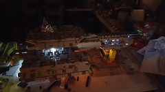 SHIPtember: Finished. Lights. (LegoSamBo) Tags: stargate daedalus lego shiptember