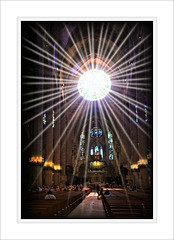 Blessings from above...... (PAUL Y-D) Tags: catherdral light god church architectutre