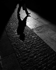 The Path (sergi_escribano) Tags: streetphotography streetsofbarcelona sergiescribanophotography documentaryphotography barcelonastreetphotography barcelona monochrome blackandwhite city shadow barrigotic oldtown monocromtico abstract surrealista contraluz noircity darkness lightanddarkness light streetphoto streetshot