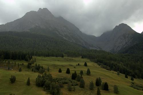 Lower Engadin Valley