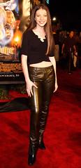 Michelle Trachtenberg (gitblp) Tags: leather leder cuir cuero pants trousers jeans sexy shiny michelle trachtenberg