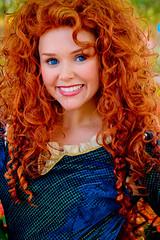 Merida (abelle2) Tags: epcot princess disney disneyworld merida pixar brave wdw waltdisneyworld disneyprincess futureworld disneypixar characterspot princessmerida