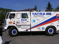 Tatra 815 rally Paris-Dakar (lonkvir) Tags: tatra