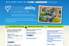 Child Disability Connection Home Page