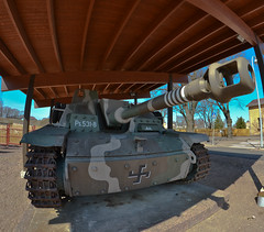 Tank (Jarir82) Tags: finland nikon war gun tank military shell fisheye armor cannon vehicle 8mm panzer lightroom ruk stugiii samyang miag d3100