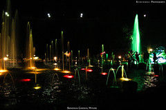 Brindavan Gardens, Mysore. (Kanishka **) Tags: longexposure trip night canon lights colorful karnataka mysore samrat waterfountains kanishka brindavan brindavangardens 550d darkpics