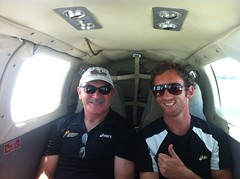 """Rob and Tim on the way to Ramingining • <a style=""""font-size:0.8em;"""" href=""""https://www.flickr.com/photos/64883702@N04/7117264285/"""" target=""""_blank"""">View on Flickr</a>"""