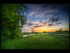 Well done ... (Kemoauc) Tags: green sunrise golf nikon grn hdr topaz photomatix hemmingen nippenburg d300s kemoauc