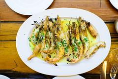 Camarones del Pacifico a la parilla (Pacific shrimp on the grill) ($217 MXP) (ALifeWorthEating) Tags: mexico mexicocity shellfish seafood laja merotoro jairtéllez