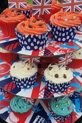 Jubilee Cakes (notFlunky) Tags: england cakes jack elizabeth jubilee union flags queen diamond qe2