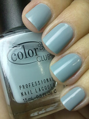 sheer disguise, color club (nails@mands) Tags: blue grey nagellack polish nails nailpolish cinza unhas lacquer vernis esmalte smalto naillacquer verniz colorclub nailsmands sheerdisguise