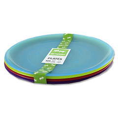 Kids Plastic Plates Set of 4 Assorted (BPA free life) Tags: smash bottles bpafree kidsplasticplates