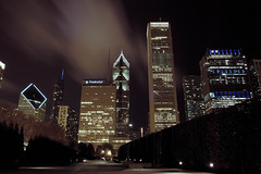 Quiet Night (D.Tarasov) Tags: city sky chicago building architecture night skyscraper canon illinois long exposure cityscape line lin scape fr scraper f20 17mm 44mm mygearandme mygearandmepremium flickrstruereflection1 flickrstruereflection2 flickrstruereflection3 rememberthatmomentlevel1 rememberthatmomentlevel2 17mm44mm