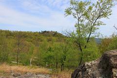 High Point Viewed From Blue Trail (Nicholas Rinaldi) Tags: mountain mountains nature forest newjersey highlands hiking wildlife lakes nj trails scenicviews hikingtrails overlooks passaiccounty norvingreenstateforest norvingreen newjerseyhighlands