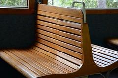 Montenvers Train (Julia Revitt) Tags: wood france mountains train nikon empty seat chamonix merdeglace d7000 montenverstrain