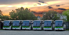 Higers At Sunset (markstopover_004) Tags: lines transport systems line aircon bicol inc regular ilet higer v90 isarog bitsi isarogline klq6109