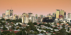 Brisbane City (Lisa McKinnon) Tags: city urban skyline architecture afternoon suburban brisbane brisvegas suburbs queenslander petrieterrace fqueensland