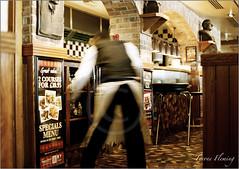 FRANKIE & BENNYS (Tyrone Fleming) Tags: restaurant southport waiter nikonf6 frankiebennys drinkscabinet kodakcolorplus200film gwtphotography carlzeissplanar1450mmzf2 f6nikon tyronefleming planar1450mmlenszf2 2coursesfor1095
