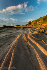Sunlit ledges (images through a lens) Tags: uk england lighthouse europe unitedkingdom britain portishead somerset severn severnestuary blacknore
