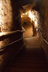 stairway from the cavern