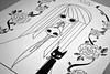 XXIV (Anita Mejia) Tags: black art illustration pen ink drawing traditional mexican pluma illustrator tinta ilustracion fiente anitamejia
