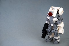 Arctic Suit (Mags) Tags: light white snow black robot hands gun power lego n tags arctic pack stuff mecha cliche bot reference mech obscure hardsuit bley deadmau5