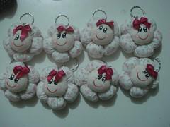 Lembrancinhas (tatiane_zoo) Tags: bebê patchwork chaveiro lembrancinha marcadordepáginas